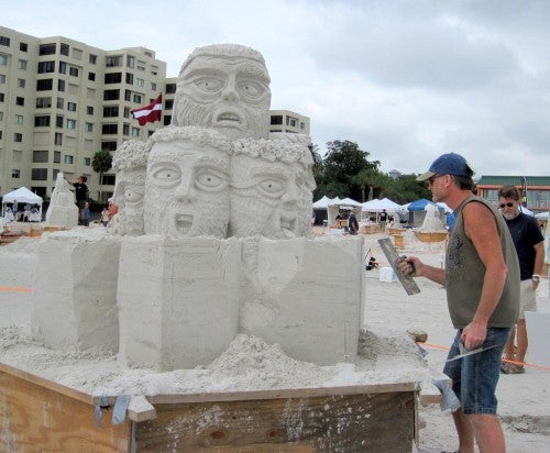 Don't Miss the American Sand Sculpting Championship in Fort Myers Beach