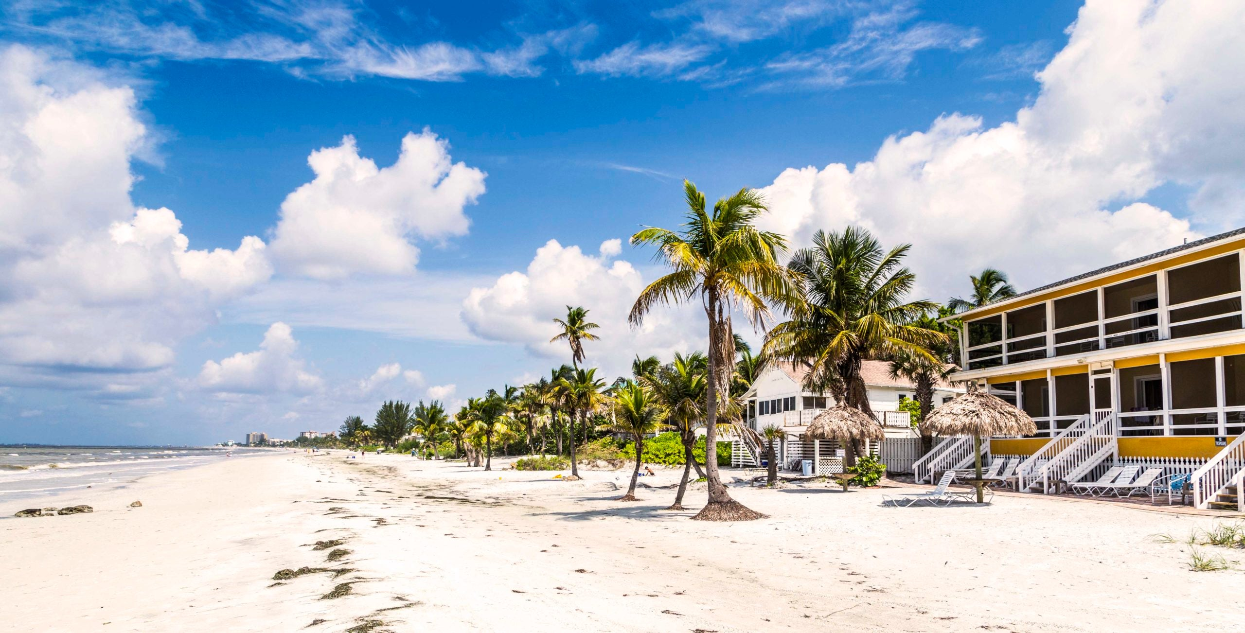 beach at Fort Myers in america