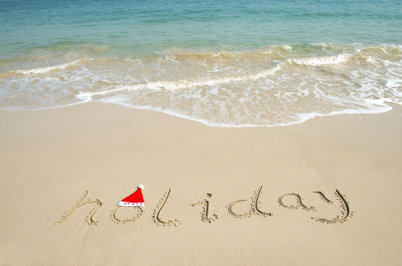 Holidays at Home: Or Maybe on the Beach?