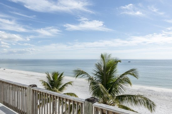 The view from Fort Myers Beach rentals
