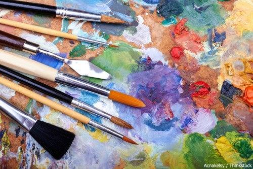 Art at ArtFest in Fort Myers