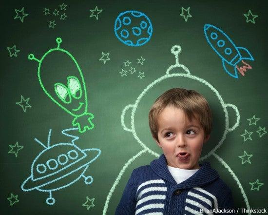 Child at the Imaginarium Science Center