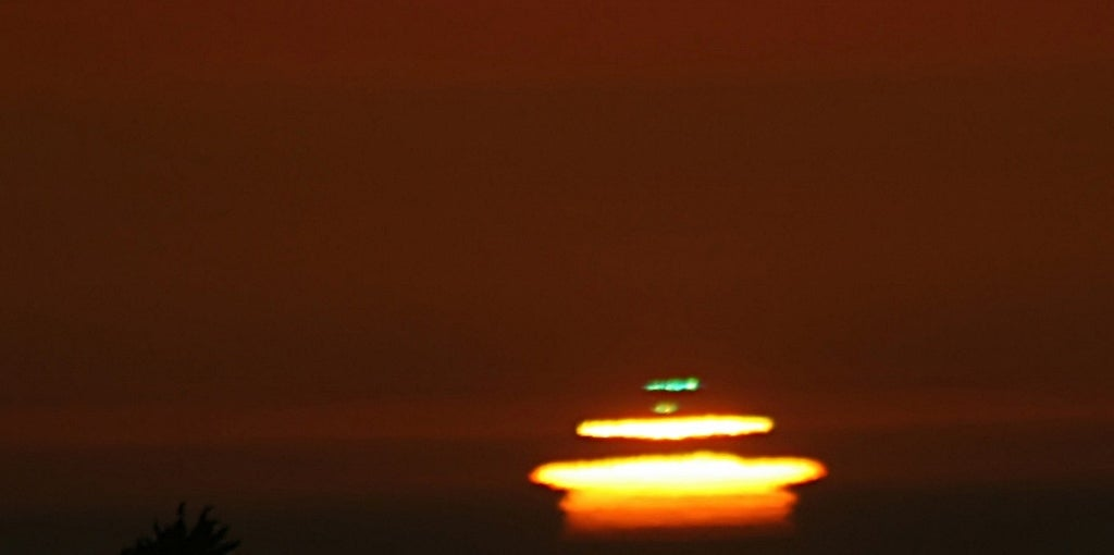 Once you've seen a Green Flash