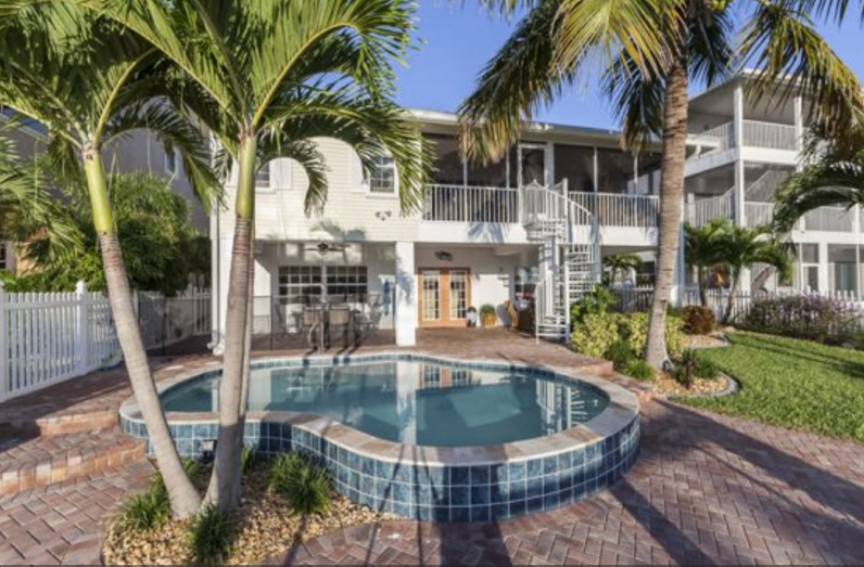 The Harborside at Palermo beach vacation home on Fort Myers Beach!