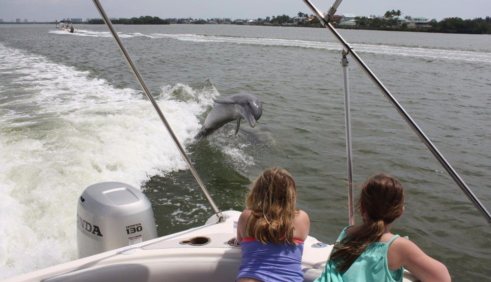 Cruisin' the waters of Fort Myers Beach!