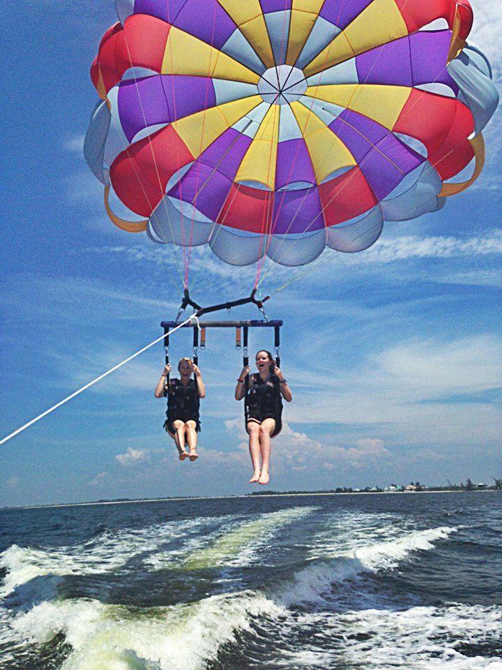 Having fun on the water!