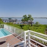 Privacy and bayfront views!