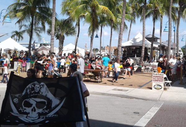 Enjoy bands all day long at the The 12th Annual Fort Myers Beach Pirate Festival, which takes place Oct. 6-8, 2017.