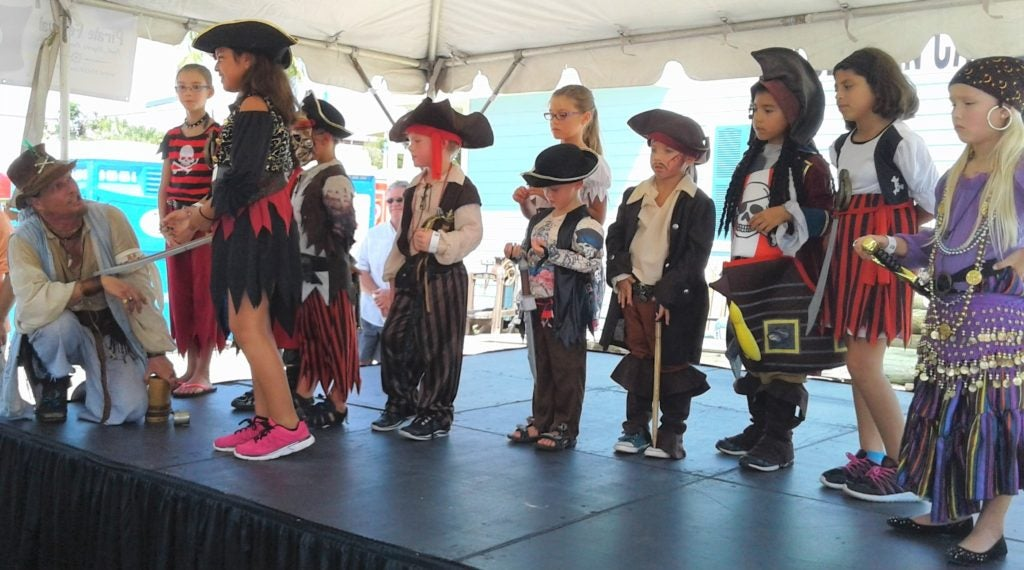 Ahoy, it's Pirate Festival Time on Columbus Day Weekend