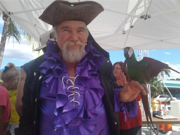 Pirate costumes abound at the The 12th Annual Fort Myers Beach Pirate Festival, which takes place Oct. 6-8, 2017.