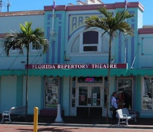 Florida Repertory Theatre is housed in a historic building.