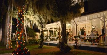 Holiday Nights a 'Bright' Tradition at Edison & Ford Winter Estates