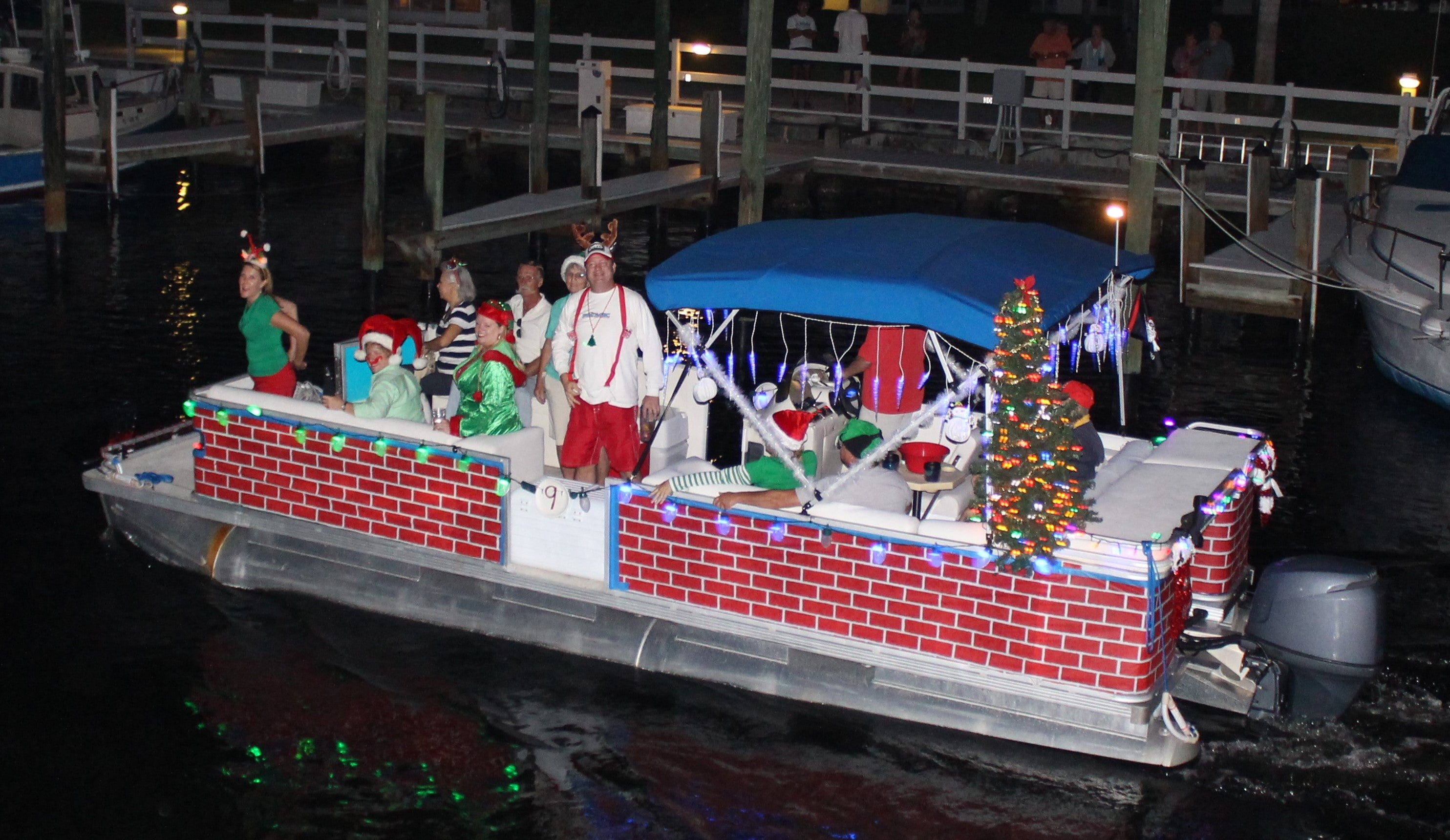 The 29th Annual Fort Myers Beach Christmas Boat Parade takes place on Saturday, Dec. 2, 2017.