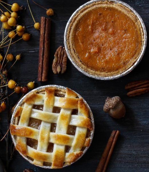 Top off your Thanksgiving dining with pie.